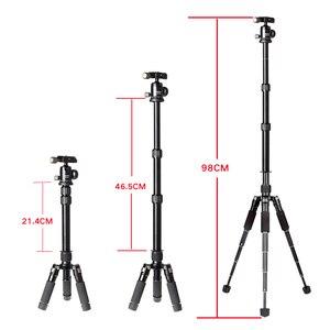Image 5 - Xiletu FM5S MINI 軽量 alluminum 三脚卓上ミニ旅行スタンド三脚 360 度のボールヘッドのためのデジタルカメラ
