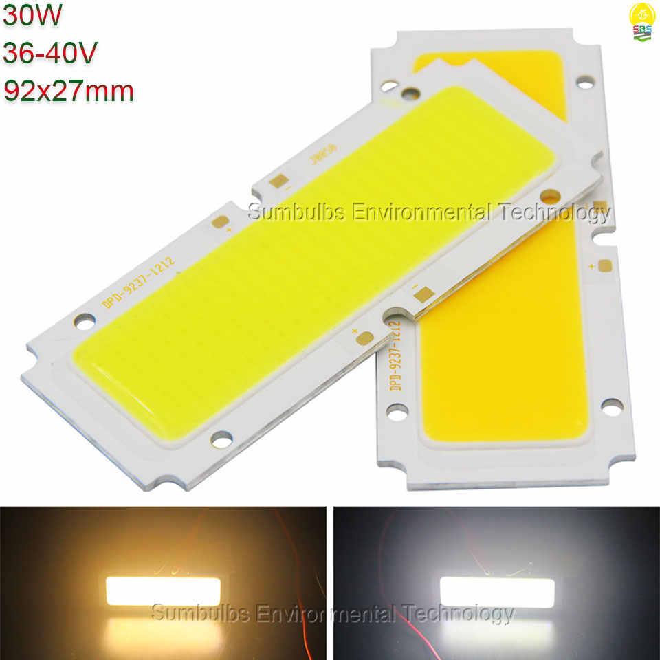 Лампа постоянного тока 1 Вт 5 Вт 10 Вт 20 Вт 50 Вт COB Светодиодная лента свет синий красный белый источник освещения для DIY светодиодный матричный чип на плате