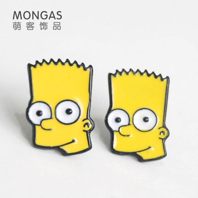 Сережки Симпсоны в ассортименте 2