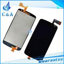 1 unidades negro envío gratis probado nueva reparación de piezas de reemplazo para HTC desire 500 lcd + pantalla táctil digitalizador