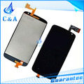 lcd display+touch screen digitizer for HTC desire 500 1 piece black free shipping tested new replacement repair parts