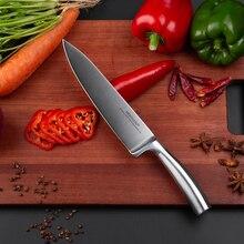 8 дюймовые поварские ножи Mokithand из высокоуглеродистой Германии, 1,4116 сталь, острый кухонный нож, профессиональный японский нож с шлифовальным лезвием