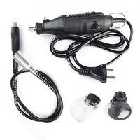 Dremel mini matkap seti döner alet aksesuar ferramentas elektrikli araçlar esnek şaft ağaç İşleme seti 220 v|mini drill kit|rotary tooldremel mini drill -