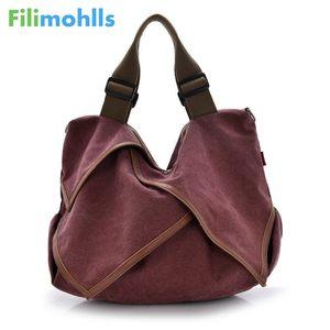 Большая Холщовая Сумка высокого качества, сумки на плечо, Стильные повседневные женские сумки для путешествий, женские сумки через плечо, с...