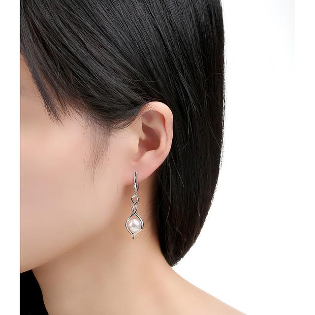 Silver Long Earrings