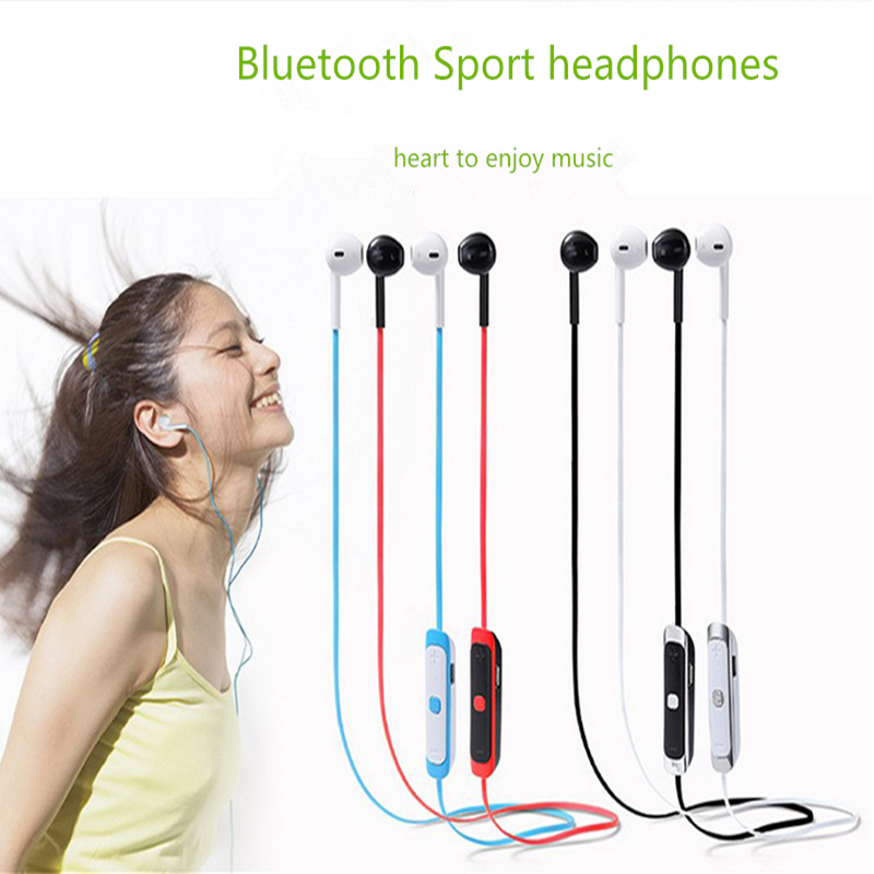Bass Sport Headset K100 Bluetooth 4.0 Wireless Earphone Stereo Music Headphones Handsfree HD Sound for For samsung apple xiaomi universal sport stereo handsfree wireless bluetooth 4 0 stereo headphones sport earphone headset for samsung iphone