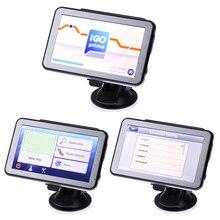 5 дюймов С Сенсорным Экраном Автомобильный GPS Навигатор FM Передатчик MP3/MP4 Плееры Mstar800MHz, DDR128M  8 ГБ Поддержка северная/Южная Америка Европа