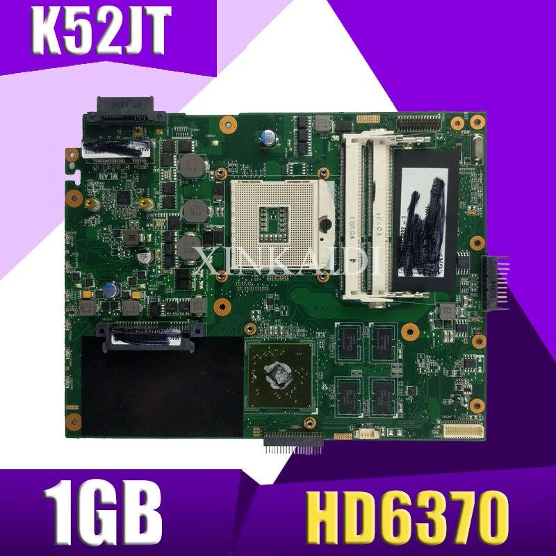XinKaidi K52JT Laptop Motherboard For ASUS K52JB K52JE K52JR K52JC K52J A52J X52J Test Original Mainboard K52J REV2.3 HD6370 1GB