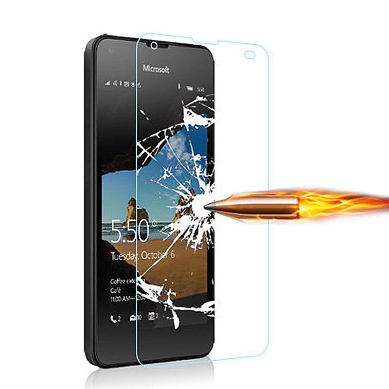 Закаленное Стекло для <font><b>Microsoft</b></font> Lumia 550 640 650 <font><b>950</b></font> XL Экран протектор телефон аксессуары чехол Плёнки для Nokia Lumia 550 Стекло