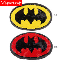 embroidery sequins patches for jackets,sequins badges for jeans,appliques A136