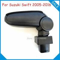 Free Shipping FOR SUZUKI SWIFT 2005 2016 MK3 MK4 Car ARMREST,Car Interior Accessories parts Center Armrest Console Box Arm Rest