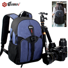 EIRMAI Camera Backpack DSLR Soft Pad Stylish Waterproof Shoulders Bag Men Women Digital SLR Case Tripod Bag for Canon Nikon Sony сумка для видеокамеры 5pcs canon nikon slr dslr