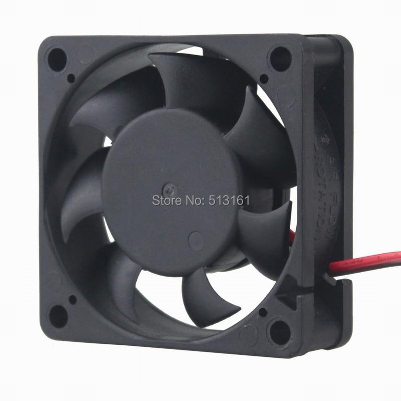 2 Pcs Lot Gdstime DC 12V 2Pin Ball Bearing 60x60x20mm 6cm PC Cooling 60mm CPU Cooler Fan|Fans & Cooling| |  - title=