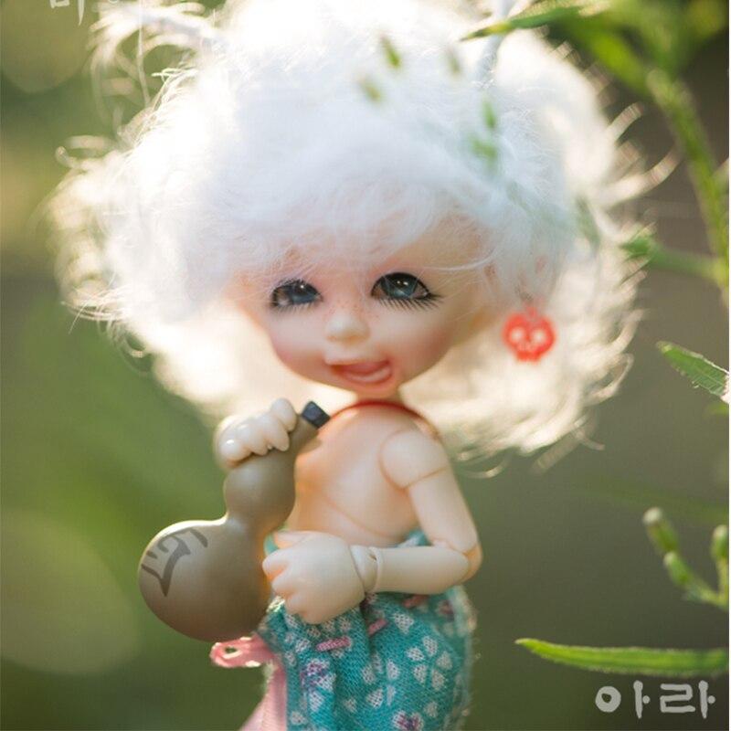 OUENEIFS Fairyland Realpuki Ara bjd doll sd 1/13 body model baby girls boys dolls eyes High Quality toys цены онлайн