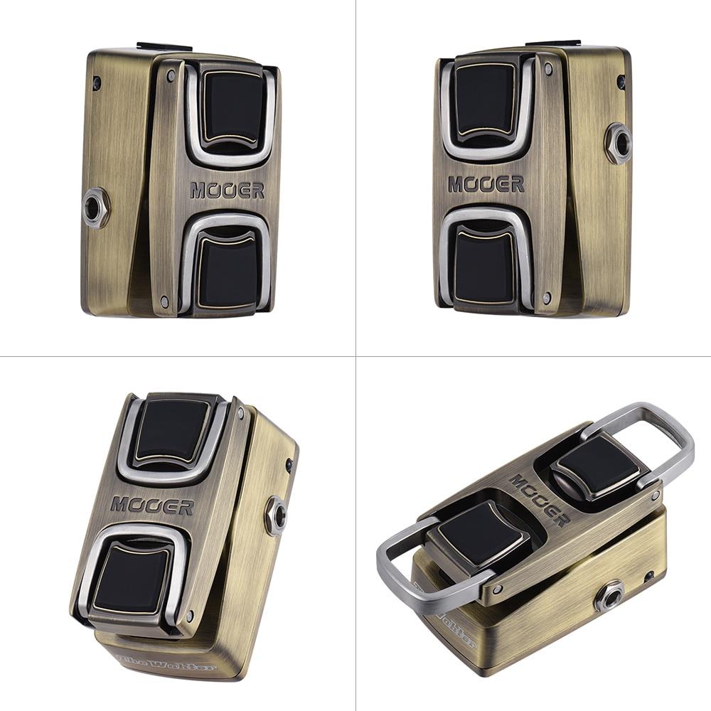 MOOER The Wahter Wah Guitar Effect Pedal Pressure Sensing Switch Full Metal