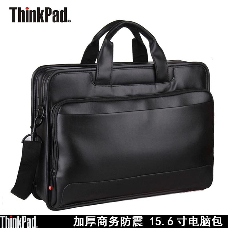 Pochette d'ordinateur d'origine pour Lenovo ThinkPad TL410 15.6 pouces mallette d'affaires épaule Sags Supre capacité Toploader cuir