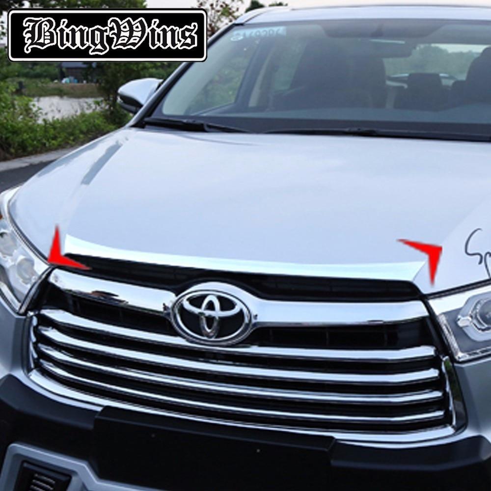 Toyota Highlander Reviews: Car Styling For Toyota Highlander Front Cover Trim 2015