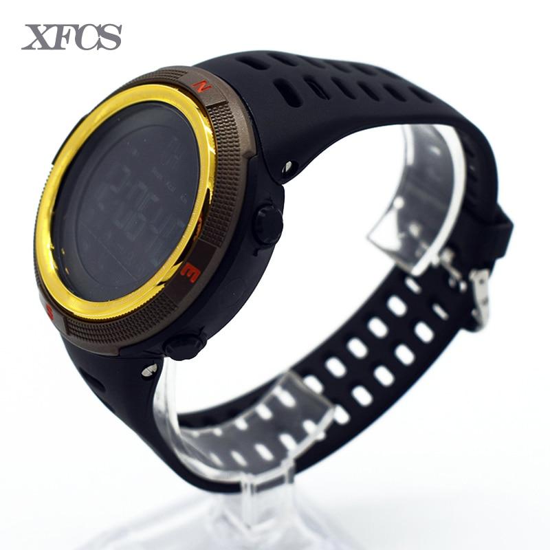 <font><b>XFCS</b></font> waterproof wrist digital automatic watches for men digitais watch running mens man digitales clock swimming running fashion