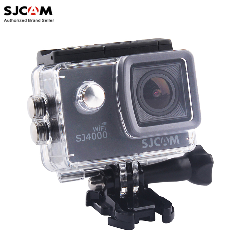 100% Original SJCAM SJ4000 WiFi 2'' Screen 1080P Full HD Underwater 30M Waterproof  Sports Action Camera  Car Mini DVR