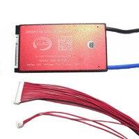 Pwb do sistema de gestão pcm da bateria de 20 s 72 v 30a 40a 50a 60a bms para o bloco 18650 da bateria do íon do lítio com equilíbrio