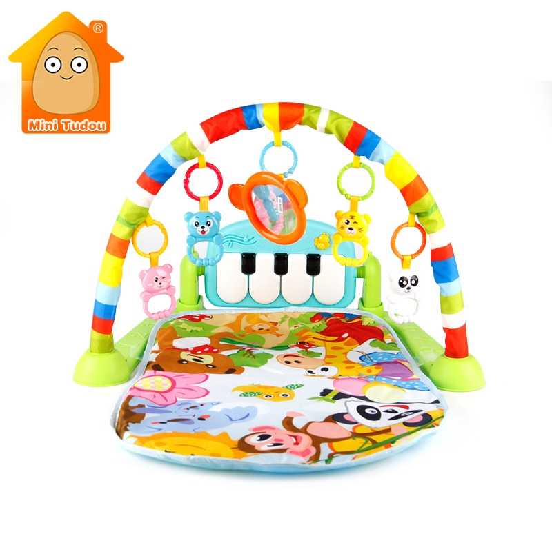 Detail Feedback Questions about Baby Toys Colourful Musical Play Gym