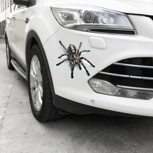 Image 3 - 3D Car Sticker Animals Bumper Spider Gecko Scorpions Car styling Abarth Vinyl Decal Sticker Cars Auto Motorcycle Accessories