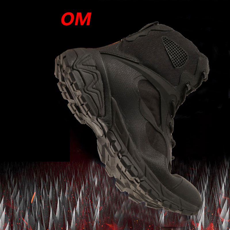 Hiking Sneakers Boots Soldier Men Outdoor Special-Force Army Waterproof Winter 45 Man