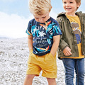 boys clothing sets 2017 summer Tees+Shorts 2pcs kids outfits cartoon print fashion children set baby boys clothes