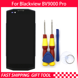 New Touch Screen LCD Display For Blackview BV9000 BV9000 pro Digitizer Assembly With Frame Replacement Parts+Disassemble Tool