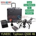 Yuneec Tifón Q500 4 K Cámara de Mano Cardán ST10 10ch 5.8G FPV Quadcopter Drone con Cámara Doble Batería y Caso Original