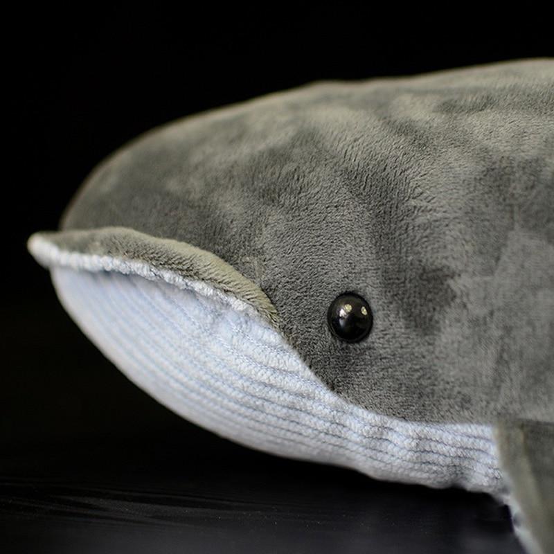 Aliexpress Com Buy 40cm Length Lifelike Blue Whale Stuffed Toy