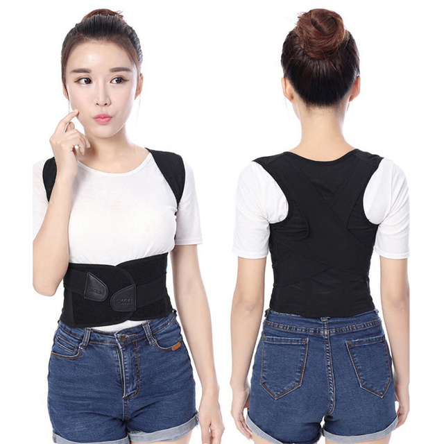 Adult Back Correction Belt Posture Correcting Band ShapingThe Perfect Back Curve Hump Corset Shoulder Kyphosis Correction Belt