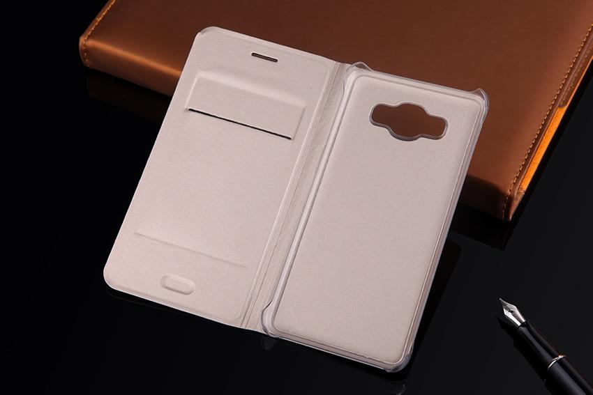 Slim Flip Cover Shell Phone Bag con tarjetero Funda de cuero Funda - Accesorios y repuestos para celulares - foto 4