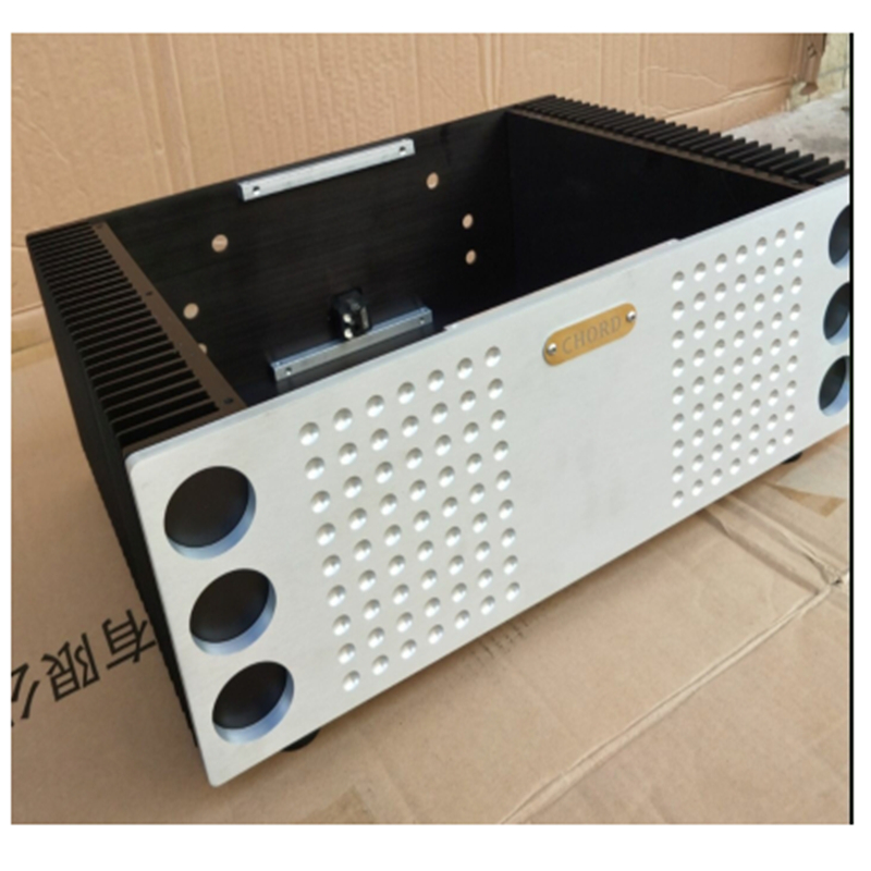 CHORD All aluminum amplifier chassis / Preamplifier case / AMP Enclosure /DIY box (430 *150*315mm) image