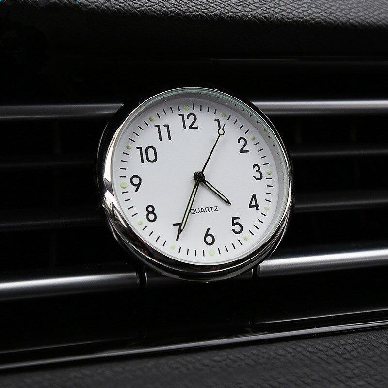 Us 1185 32 Offlunasbore Akcesoria Samochodowe Samochodowych Auto Samochód Zegar świetlny Samochód Elektroniczny Cyfrowy Zegarek Kwarcowy Dla