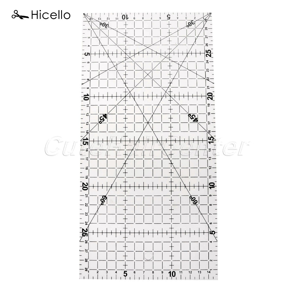 Original Hicello 1PC Tailor Tools Ruler Sewing Machine