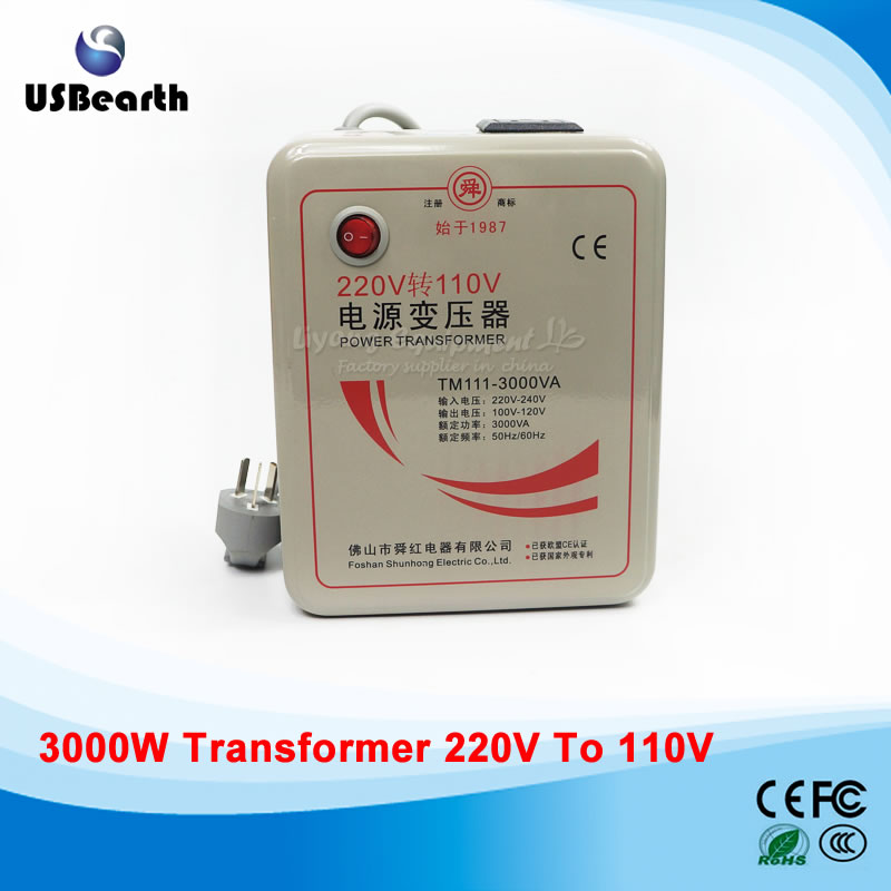 3000W transformer 110V to 220V(or 220V to 110V) voltage converter transformer  цены