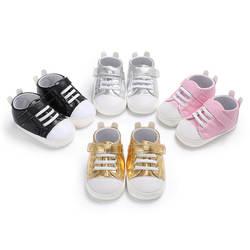 Сезон весна-осень; От 0 до 1 года для мальчиков и девочек; детская однотонная обувь, искусственная кожа, повседневная обувь, мягкая подошва