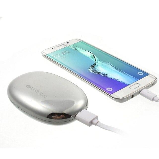 VORSON 5000mAh Power Bank Mini External Battery Power Bank (PEBBLE-5000) for Xiaomi Meizu iPhone Samsung Sony etc. Smart Phones