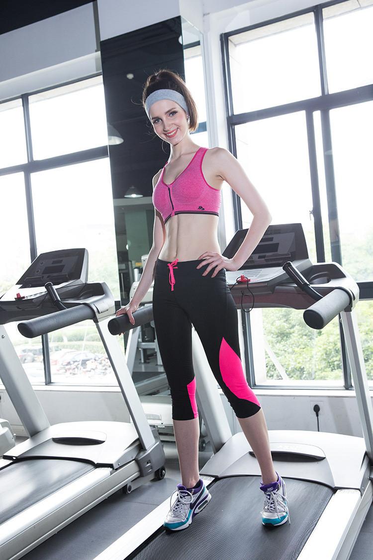 B.BANG Women's Bras Zipper Front Push Up Bra Shakeproof Intimate Crop Top Seamless Underwear Free Shipping 11