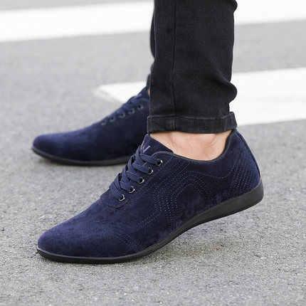 Autumn/Winter Men Shoes Fashion Low