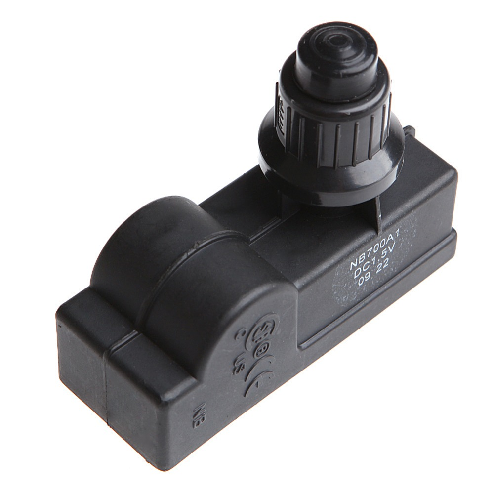 OOTDTY BBQ Gas Grill Replacement 1 Outlet AAA Battery Push Button Ignitor Igniter