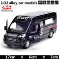 1:32 alloy car models,high simulation Ford vans,metal diecasts,toy vehicles,pull back & flashing &  musical,free shipping