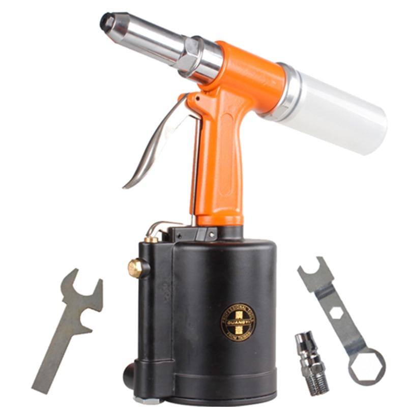 Industrial Grade Pneumatic Rivet Gun Stainless Steel Core Pull Rivet Gun W560 Rivets Gun 3.2-6.4mm
