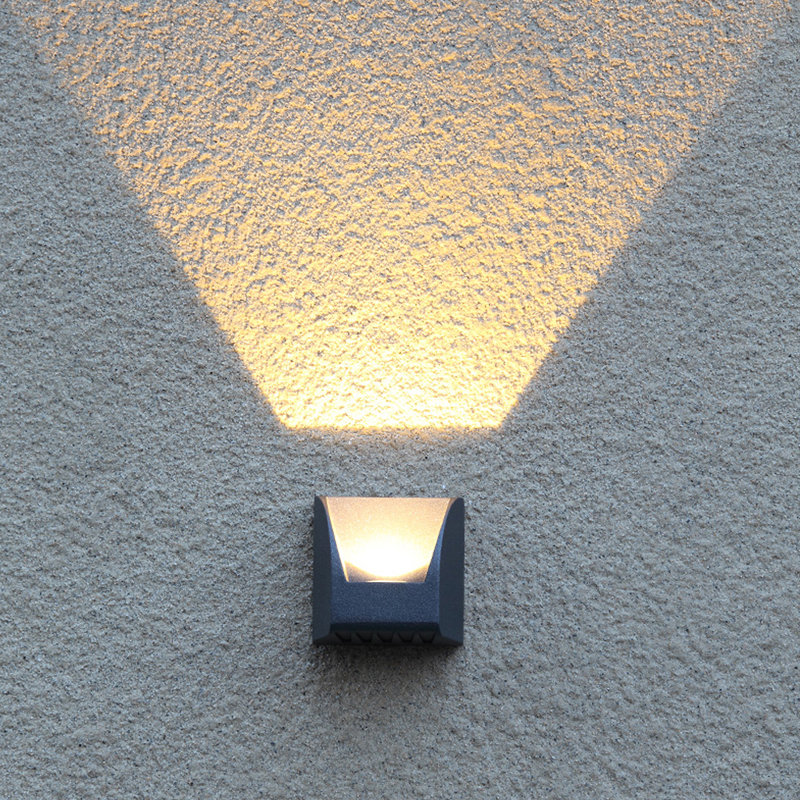 Outdoor Waterproof Wall Lamp Creativity Light Shadow Art Wall Lamps ...