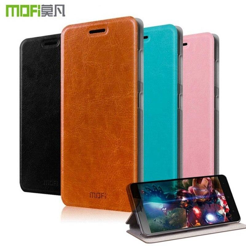 For Xiaomi Redmi 4A Case Original Mofi Flip Back Cover Wallet Cases For Xiaomi Redmi Note 3 / 4 / Redmi 4 Pro / 4A Phone Fundas