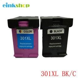 Einkshop cartouche pour hp 301 301XL compatible cartouche d'encre pour hp 301 pour hp Deskjet 1000 1050a 1055 2000 2050 3000 3050 2050a