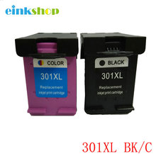 For HP 301 301 XL Black & Color Ink Cartridge For HP Deskjet 1000 1050 1050A 1055 2000 2050 3000 3050 2050A 3050A 4 for compatible hp 301 xl deskjet 1000 1050 1050a 1055 2050 2050a 3000 3050 3050a 3052