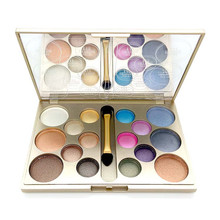 16 Colors Waterproof Diamond Eyeshadow Palette Make Up Eye Shadows Palette Glitter & Matte Nude sombra Makeup Set With Brush