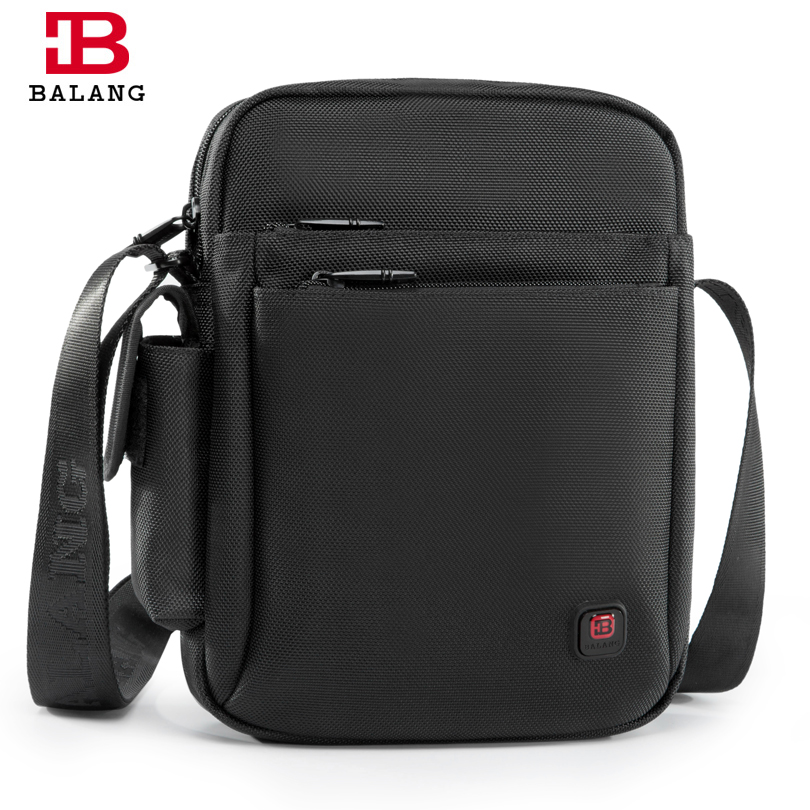 BaLang 2017 New Fashion Men Bag Waterproof Oxford Messenger Bags Business Casual Briefcase Crossbody Male Shoulder Bag Black